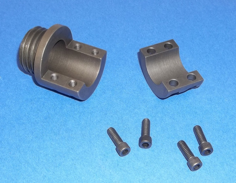 0952 - STEEL MUZZLE BRAKE CLAMP