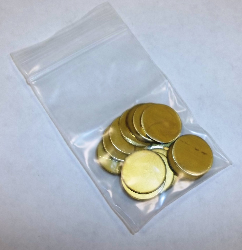 1086 - .048 BRASS DISC - Call for Price