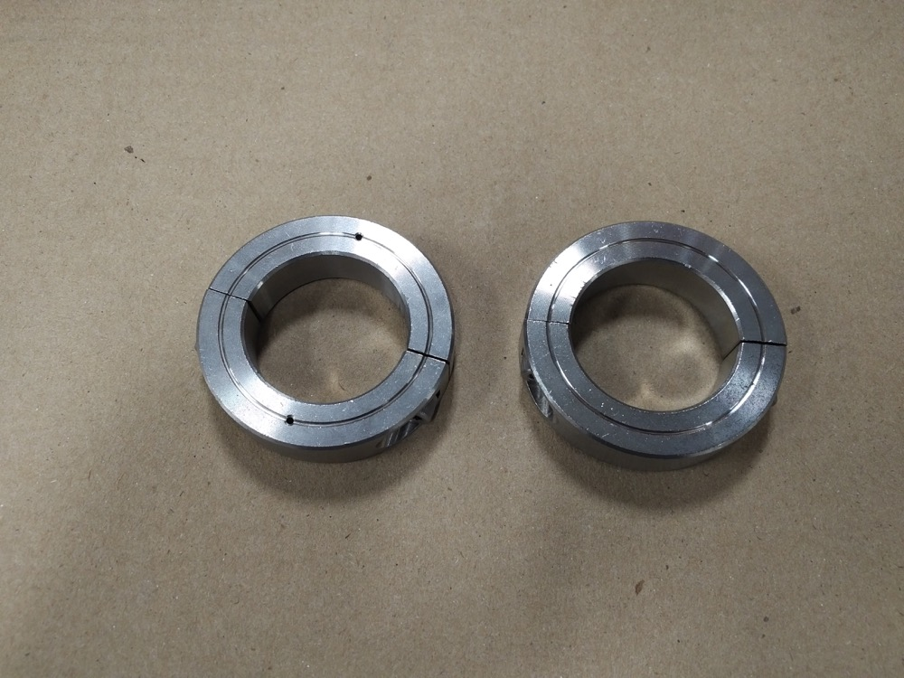 3128 - PAN CLAMP RINGS stainless st